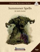 Echelon Reference Series: Summoner Spells Compiled (3pp+PRD)