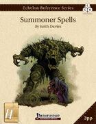 Echelon Reference Series: Summoner Spells Compiled (3pp+PRD) [BUNDLE]