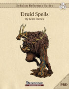 Echelon Reference Series: Druid Spells Compiled (PRD-Only)