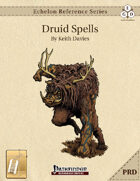 Echelon Reference Series: Druid Spells Compiled (PRD-Only) [BUNDLE]