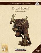 Echelon Reference Series: Druid Spells Compiled (3pp+PRD) [BUNDLE]