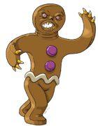 Stock Art: Gingerbread Golem