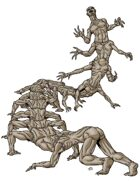 Stock Art: Crawling Horror Golem