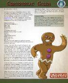 C&C Gingerbread Golem