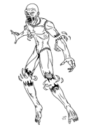 Stock Art: Spirit Flesh Golem