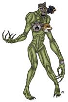 Stock Art: Witch Flesh Golem