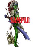 Stock Art: Nagaji Witch