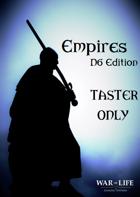 Empires: D6 Rulebook Taster