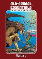 Old-School Essentials Classic Fantasy: Monsters