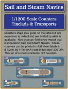 S&SN Counters - Tinclads & Transports