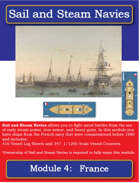 Sail and Steam Navies Module 4: France