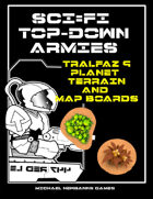 Sci-Fi TopDowns 15mm Tralfaz 9 Terrain Pack