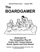 The Boardgamer Magazine - Preview Issue