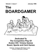 The Boardgamer Magazine - Volume 1, Issue 1