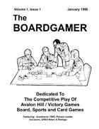 The Boardgamer Magazine - Volume 1, Issue 1