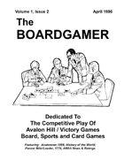 The Boardgamer Magazine - Volume 1, Issue 2