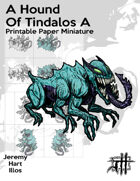 A Hound of Tindalos A Solo Paper Mini
