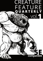 Creature Feature Quarterly vol. 1 (5e)
