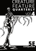 Creature Feature Quarterly vol. 4 (5e)