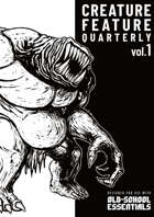 Creature Feature Quarterly vol. 1 (OSE)