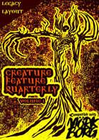 Creature Feature Quarterly vol. 1 (Mork Borg)