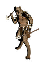 RPG Stock Art - Gnoll Warrior