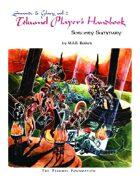 The Tekumel Player's Handbook Sorcery Summary - Swords & Glory Vol. 2
