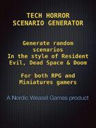 Tech Horror Scenario generator