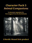 Five Leagues Character Pack 3 - Animal Companions