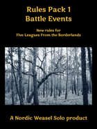 Battle Events. A supplement for Five Leagues