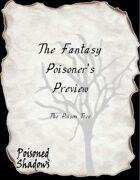 The Fantasy Poisoner's Preview