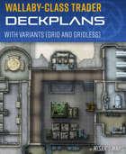 Wallaby-Class Trader - Spaceship Deckplans