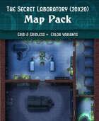 Mad Scientist's Secret Laboratory - Battle Map (20x20)