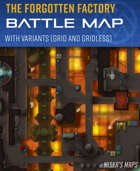 The Forgotten Droid Factory - Battle map (30x30)