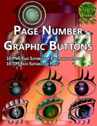 Knotty Works Page Number Buttons Set 4