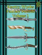 Five Fantasy Swords [Stock Art]