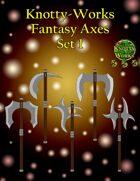 Five Fantasy Axes [Stock Art]