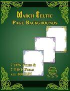 Knotty Works Backgrounds March Celtic Set 1