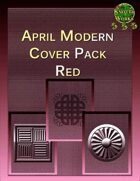 Knotty Works April Modern Cover Set Red