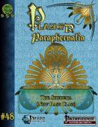 Player Paraphernalia #48 The Shuhenja (Base Class)