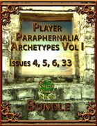 Player Paraphernalia Archetypes Vol I [BUNDLE]