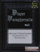 Player Paraphernalia #63 Arcane Traditions