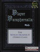 Player Paraphernalia #66 The Witch Hunter V (Hybrid Class)