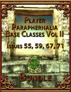 Player Paraphernalia Base Classes Vol II [BUNDLE]