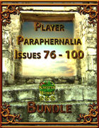 Player Paraphernalia Issues 76 - 100 [BUNDLE]