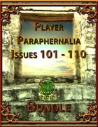 Player Paraphernalia Issues 101 - 110 [BUNDLE]