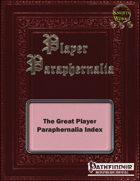 The Great Player Paraphernalia Index