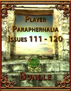Player Paraphernalia Issues 111 - 120 [BUNDLE]