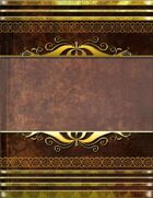 Golden Leather Book Cover 1
