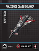 Ship Files: Polixenes Class Courier